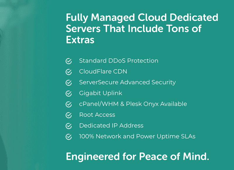Fully managed Cloud hosting