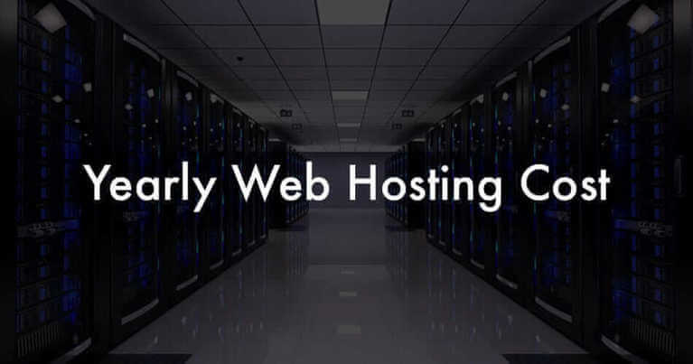 How Much does Website Hosting Cost Yearly