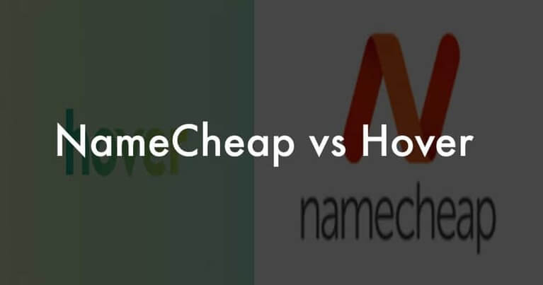 NameCheap or Hover