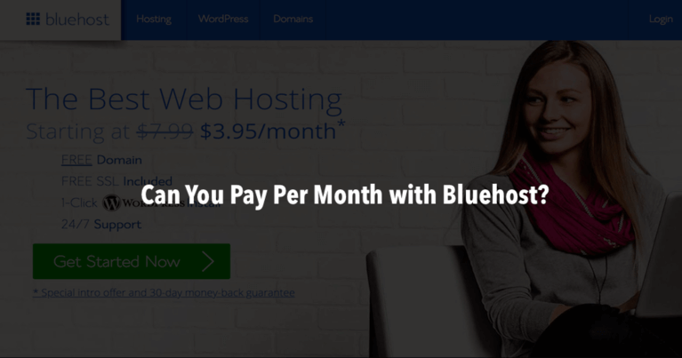 Does Bluehost Charge Monthly or Yearly